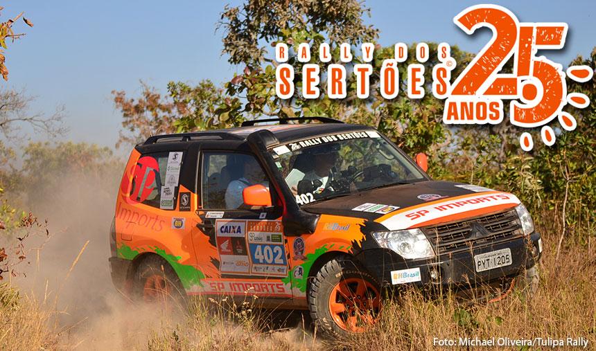 Rally dos Sertões: competição equilibrada na categoria Máster
