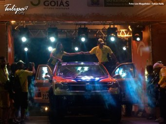 Largada promocional. Foto: Léo Magalhães / Tulipa Rally