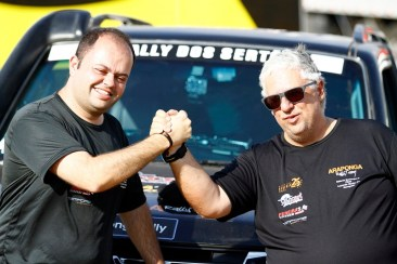 Araponga Rally subiu ao pódio do 25º Rally dos Sertões (Léo Magalhães/Tulipa Rally)