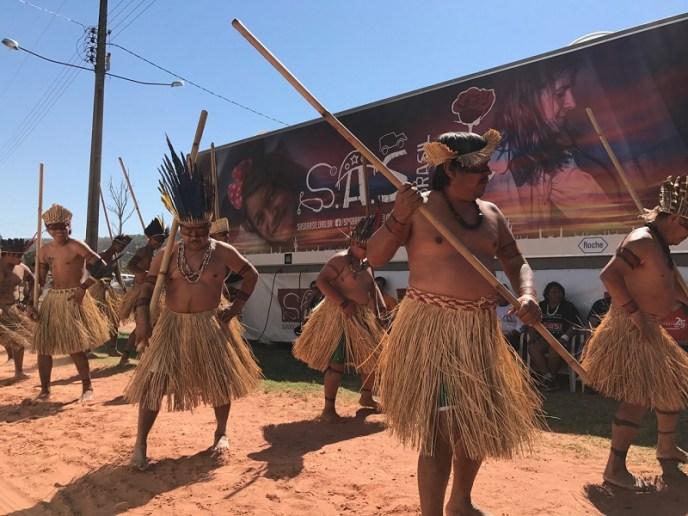 Atuação em aldeias indígenas (S.A.S.Brasil/Vipcomm)