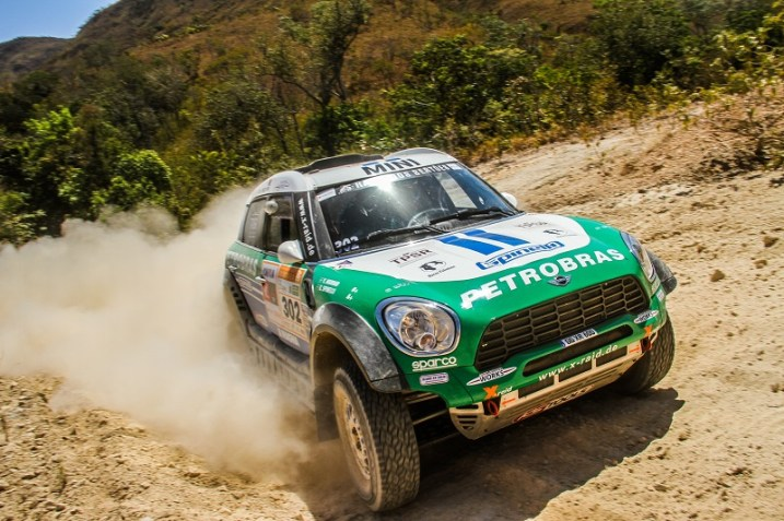 Mini All4 Racing - Rally dos Sertões 2017. Foto: Sanderson Pereira