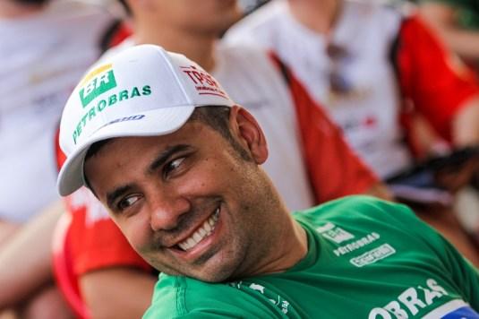 Youssef Haddad - navegador Petrobras Rally Team. Foto: Sanderson Pereira