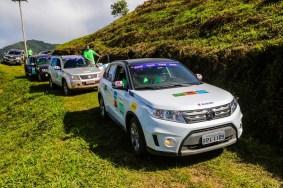 Podem participar os veículos 4x4 da Suzuki. Foto: Cadu Rolim / Suzuki