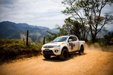 Mitsubishi Motorsports passou por belas paisagens. Foto: Adriano Carrapato / Mitsubishi