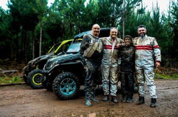 Jorge, Aurélio, Lorenzo e Tiago - da esquerda para direita (Crédito Aline Ben)