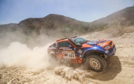 Campeões do Rally dos Sertões na Protótipos T1: Terpins e Maykel Justo (Sanderson Pereira/Photo Esporte)