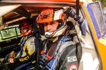 A bordo de um T-Rex, Terpins e Andreotti competem pela Protótipos T1 (Sanderson Pereira/ PhotoEsporte)