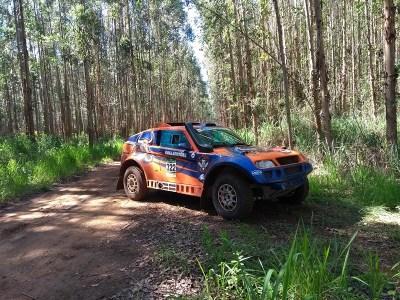 Rally Rota Sudeste: Terpis/Andreotti durante a Especial deste domingo (Divulgação)