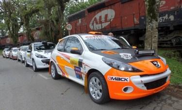 A bordo de um Peugeot 207, dupla completou as 14 Especiais da prova (Divulgação)