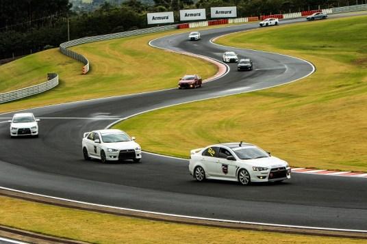 Fun Day é uma divertida prova de regularidade na pista. Foto: Ricardo Leizer / Mitsubishi