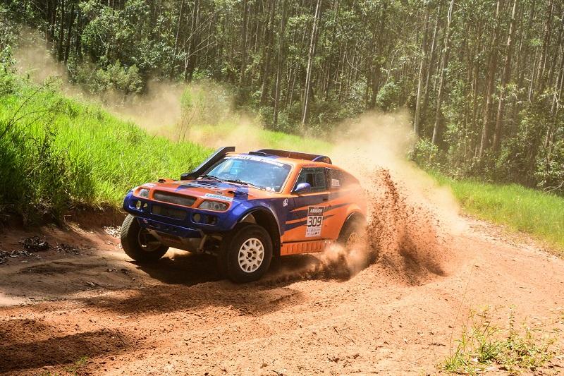 A dupla Lucas Moraes e Kaique Bentivoglio foi a campeã do 20º Rally dos Amigos (Lucas Carvalho/Photo Action)