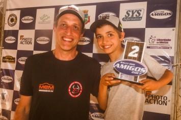 Dupla foi vice-campeã da prova e também da categoria Protótipos T1 (Sanderson Pereira/PhotoEsporte)