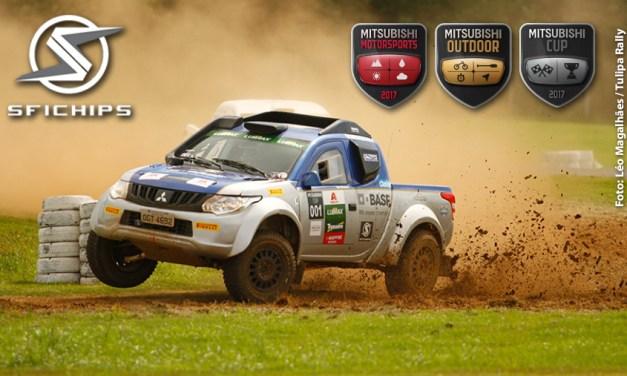 Participação SFI CHIPS nos ralis Mitsubishi