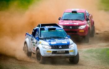Rallycross será uma das atrações do dia. Foto: Marcio Machado / Mitsubishi