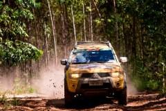 Abertura da temporada teve desafios off-road para todos os gostos. Foto: Marcelo Machado / Mitsubishi