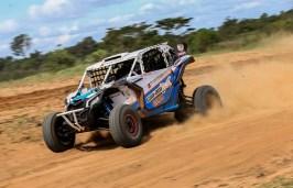 Rodrigo Varela garantiu o título da primeira edição do Rally Poeira (Luciano Santos/DFotos)