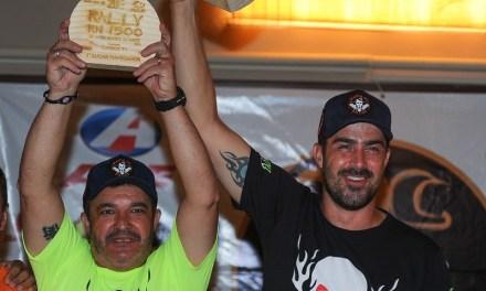 Fabrício Bianchini/Damon Alencar são campeões da Protótipos T1 do 20ª Rally RN1500