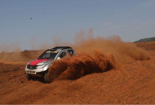 Prova válida pelo Brasileiro de Rally Cross Country. Foto: Sanderson Pereira