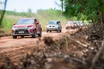 Região oferece trilhas perfeitas para o off-road. Foto: Vinicius Ferraz / Mitsubishi