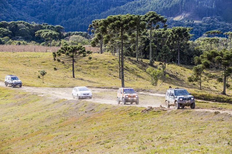 Roteiro Gaúcho será o cenário do passeio 4×4 Suzuki Day neste fim de semana em Canela (RS)