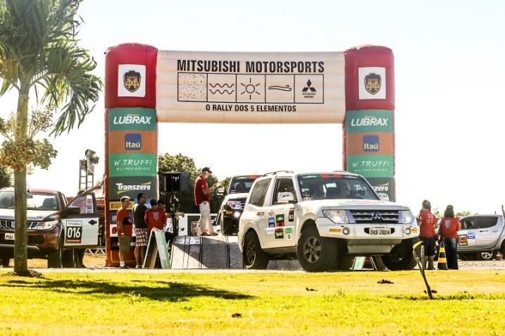 Largada do Mitsubishi Motorsports será no sábado (Foto: Ricardo Leizer / Mitsubishi)