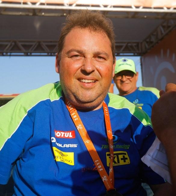 Leandro Torres, campeão do Dakar, é padrinho do S.A.S. Brasil (Magnus Torquato/Fotop/Vipcomm)