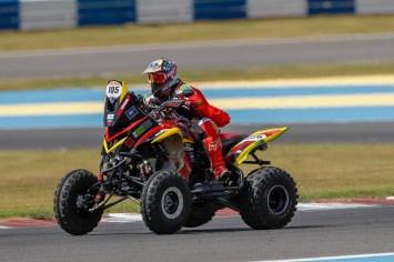 Giovanni Filho foi o melhor entre os pilotos dos quadriciclos (Marcelo Machado de Melo/Fotop/Vipcomm)