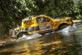 Cristian Baumgart e Beco Andreotti mantiveram a ponta entre os carros (Magnus Torquato/Fotop/Vipcomm)