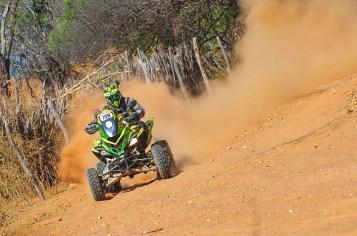 Wescley Dutra manteve a liderança nos quadriciclos (Doni Castilho/Fotop/Vipcomm)