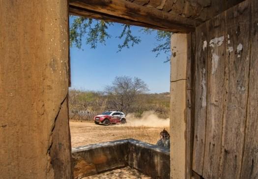 Dupla disputou a prova pela primeira vez com o Mitsubishi ASX Racing. Foto: Doni Castilho/Fotop