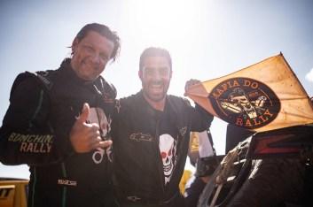 Bianchini/Pereira festejam o final da última Especial (Victor Eleutério/Fotop)