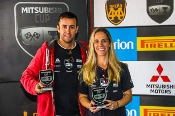 Duplas são premiadas a cada etapa e somam pontos para o campeonato. Foto: Cadu Rolim/Mitsubishi