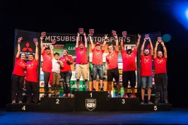 No fim de cada etapa, os competidores se encontram no almoço de premiação. Foto: Cadu Rolim/Mitsubishi