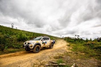 Mitsubishi Motorsports desbravou as trilhas da região catarinense. Foto: Ricardo Leizer/Mitsubishi