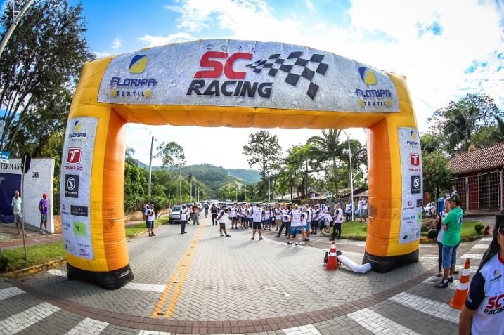 Terceira etapa da Copa SC Racing será neste sábado (20), em Curitibanos (Divulgação)