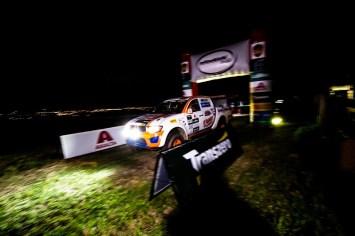 Prova noturna: um desafio a mais para as duplas da Mit Cup (Foto: Ricardo Leizer/Mitsubishi)