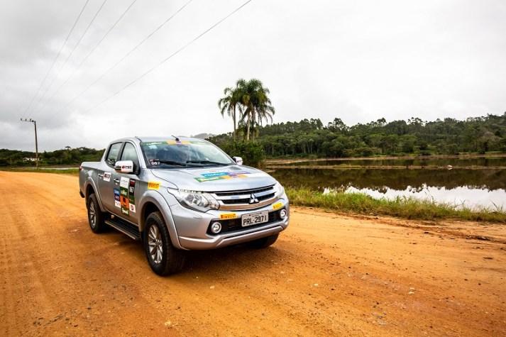 Podem participar os veículos 4x4 das linhas ASX, L200 e Pajero (Foto: Ricardo Leizer/Mitsubishi)