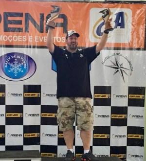 Fontoura conquista dois troféus: Vice-Campeão da prova e 2o na PT1 FIA BR (Claudio Rieser /PhotoEsporte)