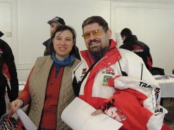 Os paulistas Sergio e Adriana Maurano confirmaram presença no rali catarinense (Rodrigo Phillips)