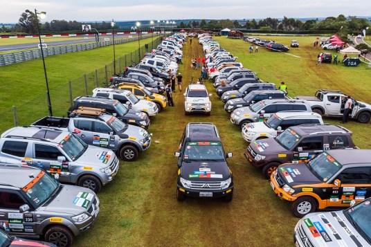 Provas reuniram centenas de veículos (Foto: Cadu Rolim / Mitsubishi)