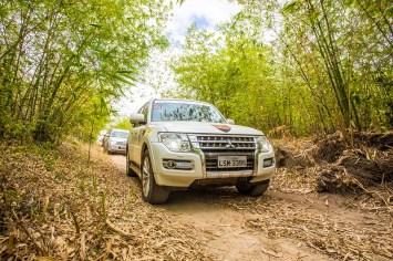 Trajeto terá cerca de 70km (Foto: Helora Moraes / Mitsubishi)