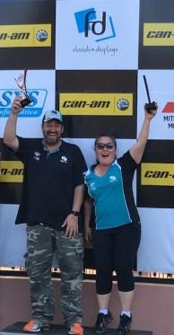 Fontoura/Minae: Vice-Campeões da prova no geral e na PT1BR (Divulgação)