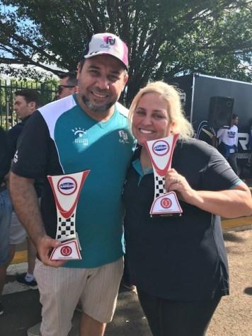 Sandra/Schuinka levaram a melhor na Pró Brasil (Divulgação)