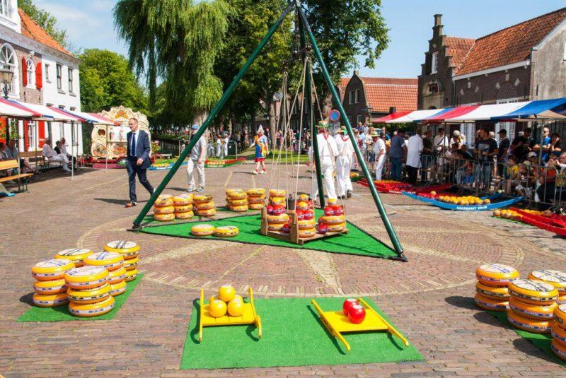 Cheese market Edam holland