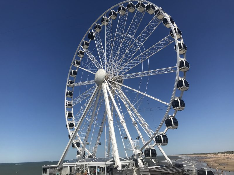 Skyview Ferris Wheel Scheveningen The Hague Beach