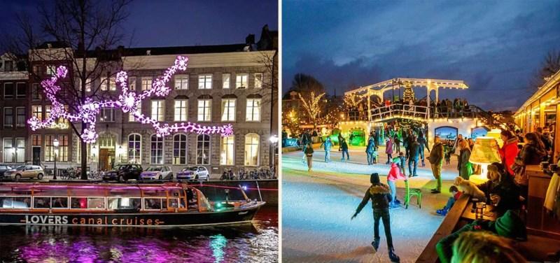 Amsterdam Light Festival Ice Amsterdam