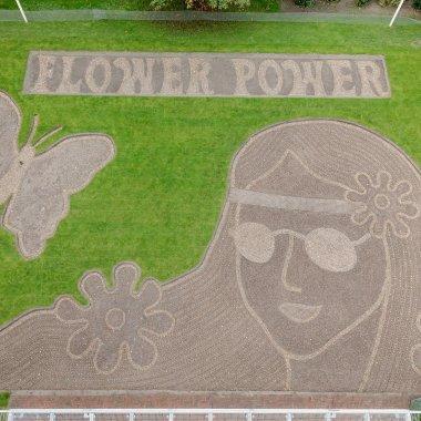 Flower Power Mosaic Keukenhof