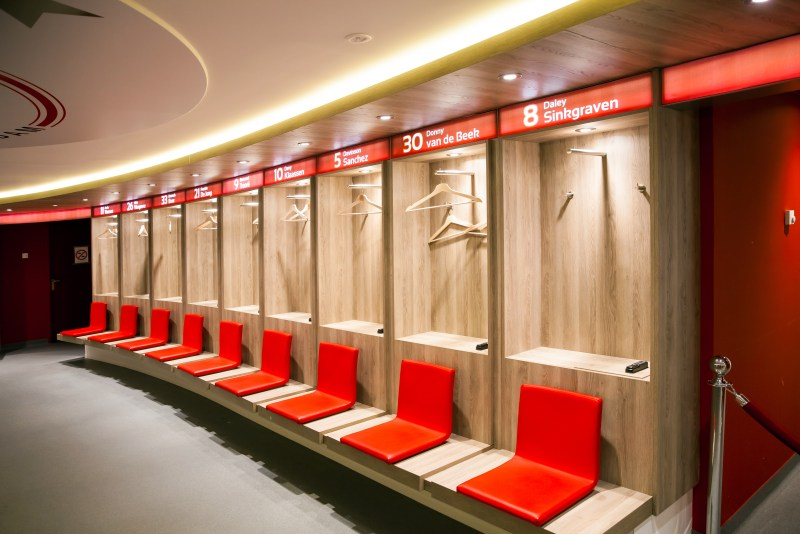 During the Ajax Stadium Tour you will get to see the inside of the Ajax Stadium in Amsterdam