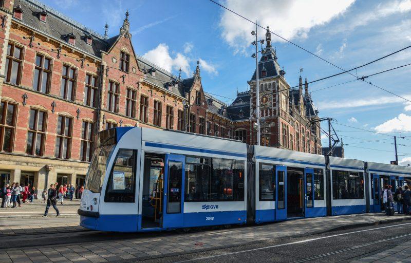 Bus train metro Amsterdam