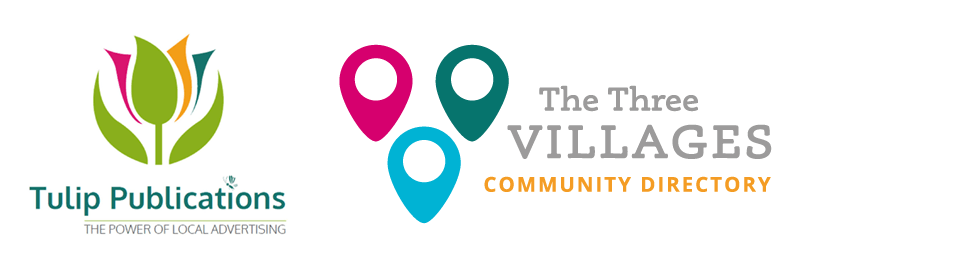 Tulip Publications and The Three Villages Community Directory Logos